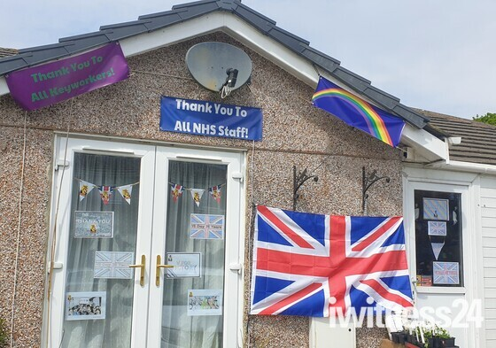 VE day 2020 decorations