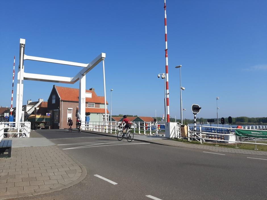 Sluisje bij Spaarndam