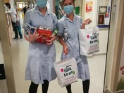 Hinchingbrook Hospital staff and Community donations for welfare packs