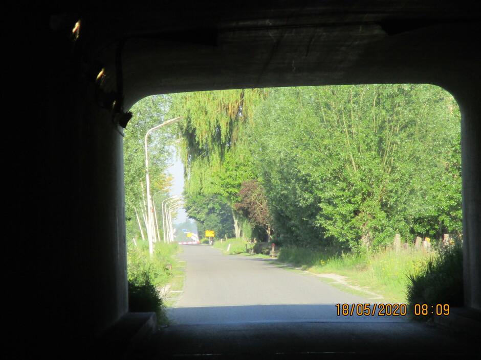 tunneltje haarweg over de a A 27