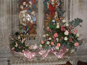 Project 52 church flower arrangement