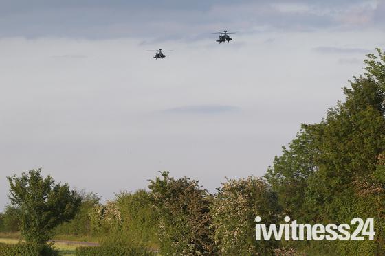 Apaches at Wattisham