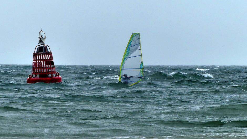 Wind golven windsurfweer