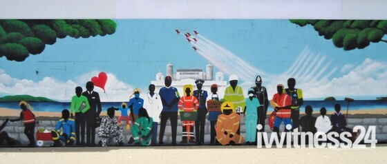 Key Workers Thank You Mural