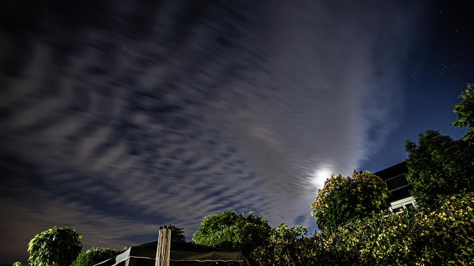 Wolken maakte plaats voor een heldere sterrenlucht