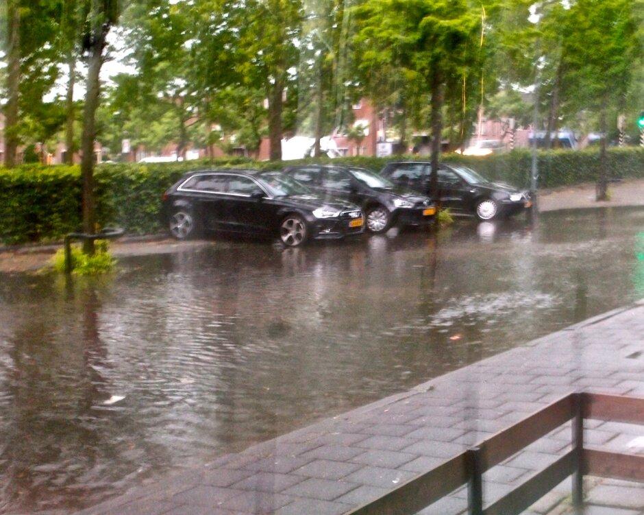 29 Mei 2018 Wateroverlast