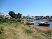 Boats at Camperdown Terrace, Exmouth