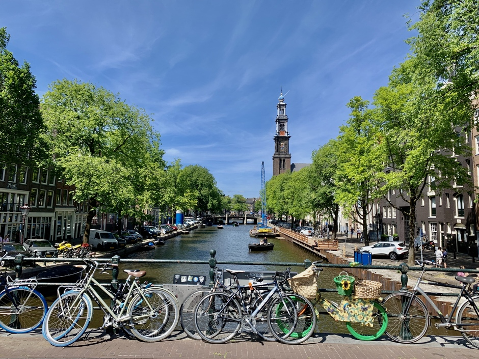 Mooie sluier te Amsterdam