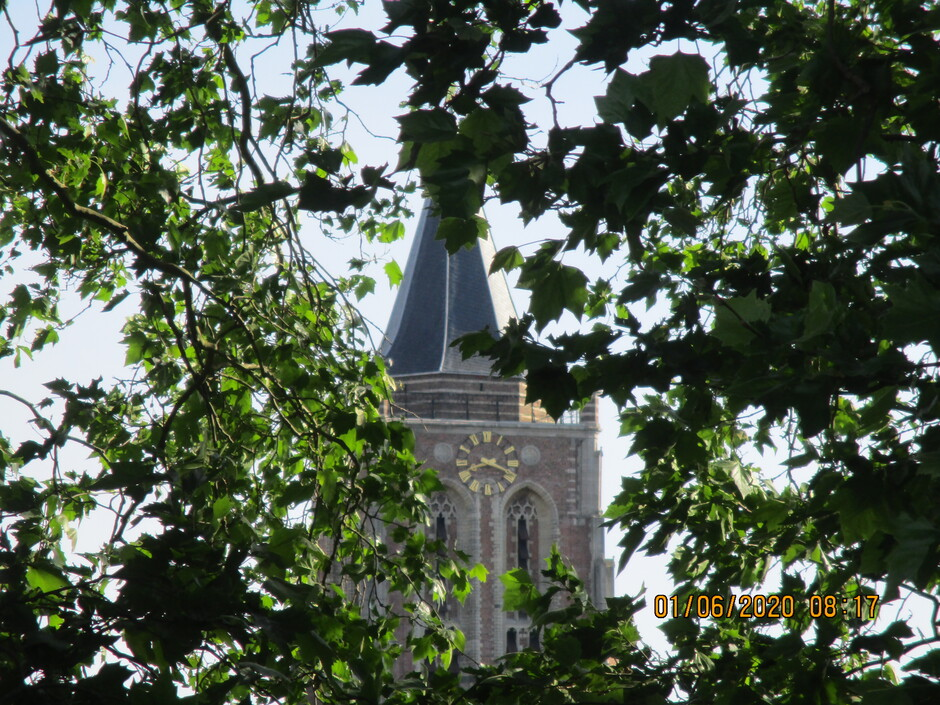 Grote kerk binnenstad Gorinchem