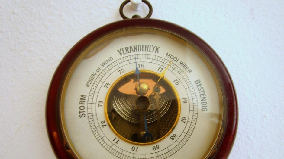 Dalende barometer
