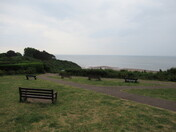 A view across the sea from Foxholes Hill, Exmouth.