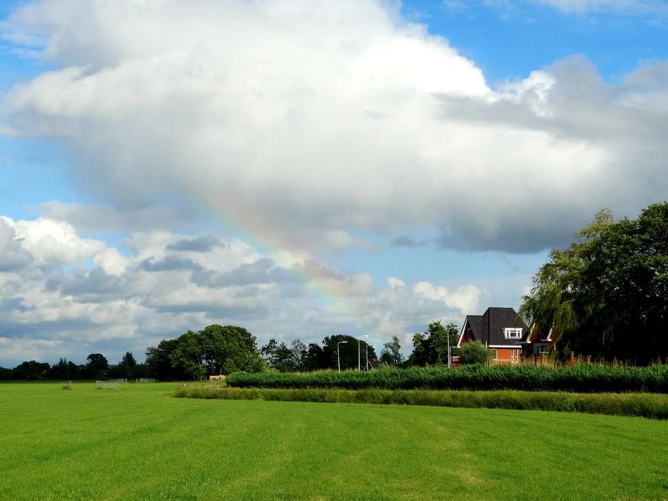 Een stukje van de regenboog
