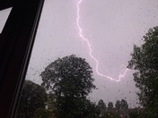 Lightning over Hornchurch