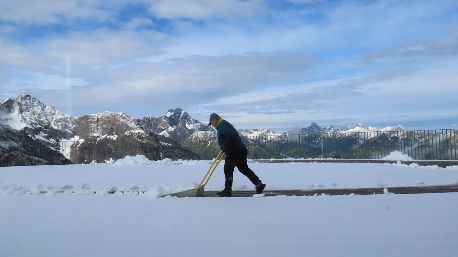 Alpen: sneeuw