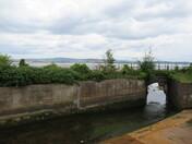 Railway bridge over stream by Mudbank Lane