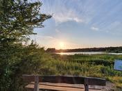 Sunset at Thorpe Marshes