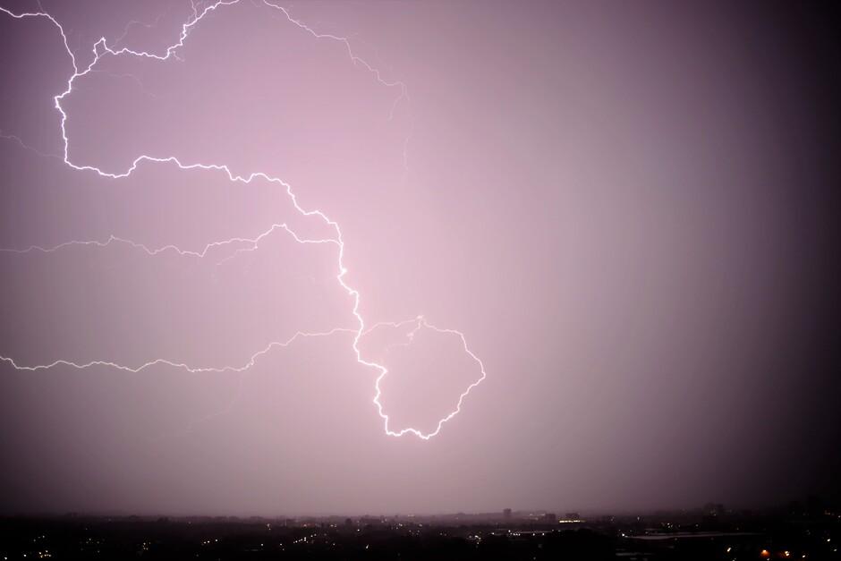 Onweer boven Zoetermeer 2