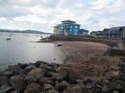Shelly Beach on a sunny & cloudy evening