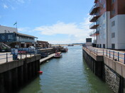 Exmouth Marina on a sunny afternoon