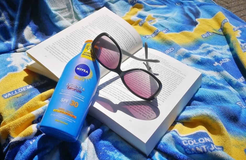 Beschermd de zon in