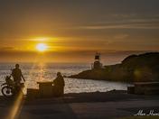 Sunset near Bettery Point