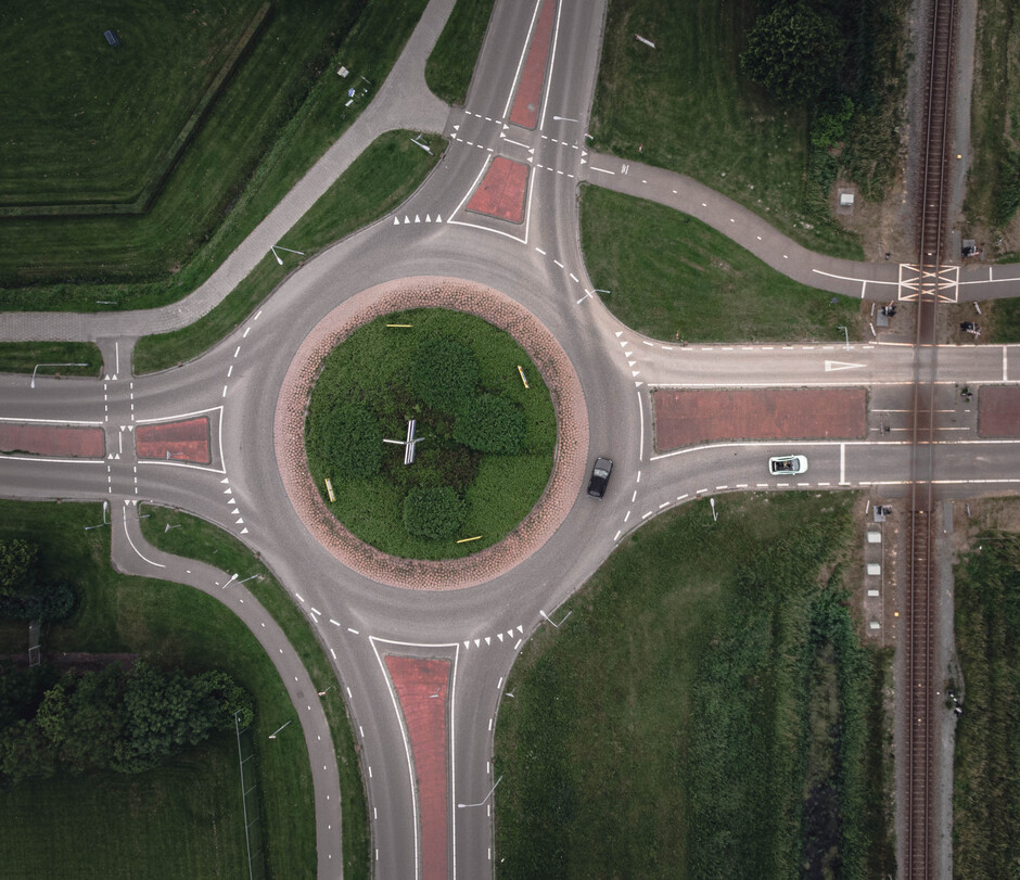 Kruispunt in Appingedam