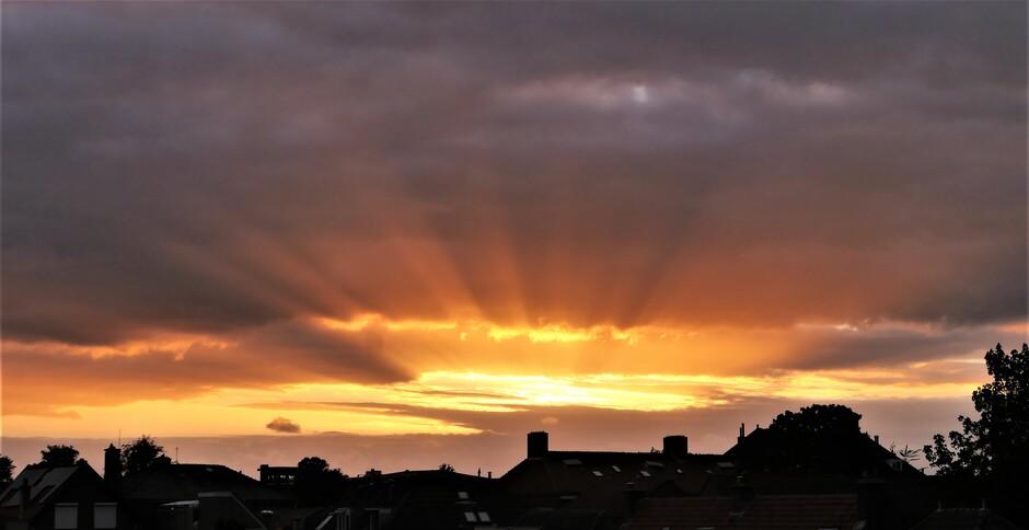 Zonneharp boven Gorinchem