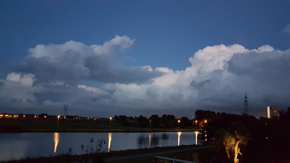 Lichte wolk