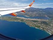 EasyJet over Kefolonia Greek Islands last year -- Pic might usefull