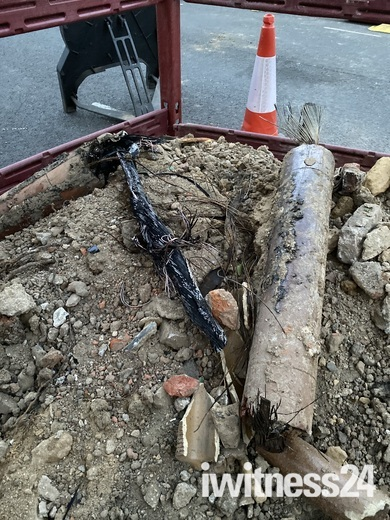 Electrical fault leads to gas leak