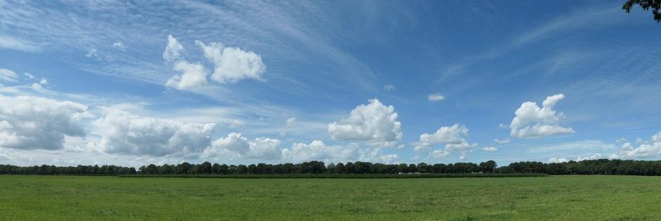 Panorama wolk