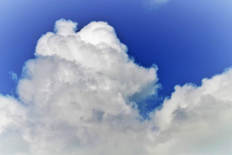 Fraaie Opbollende Cumulus Stapelwolken