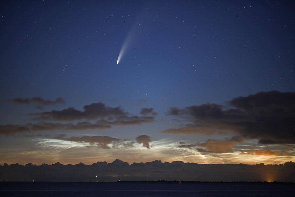 Komeet Neowise én NLC