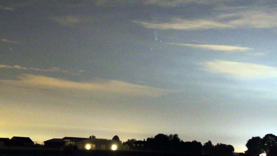 Komeet Neowise slecht te zien - Oudenbosch- 19-07-2020 02:00 uur