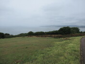 A view over the sea from Foxholes Hill