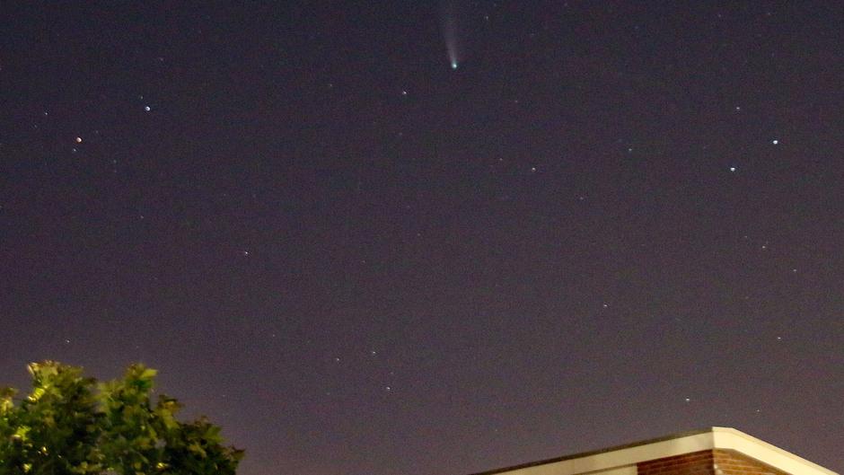 Komeet Neowise - Oudenbosch - 00:15 uur