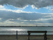 Felixstowe to Harwich view.