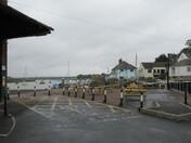 Topsham Quay from the car park