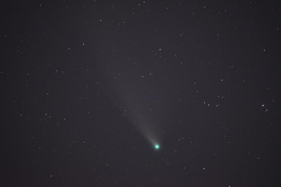 Komeet Neowise wordt groen