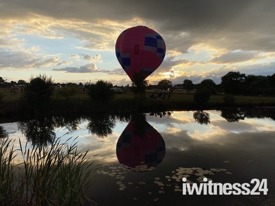 Balloon at the park