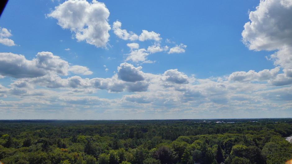 Lucht boven Veluwe