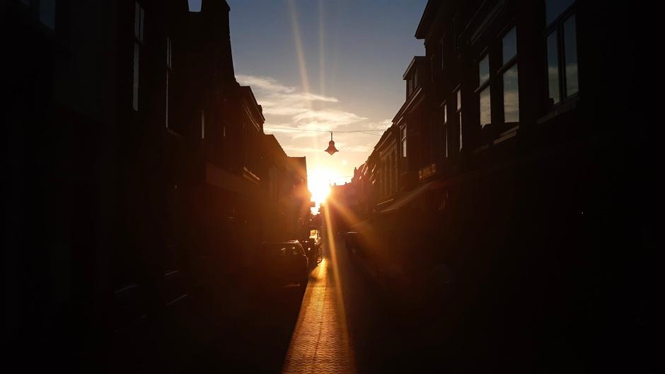Gouden uurtje #zonsondergang