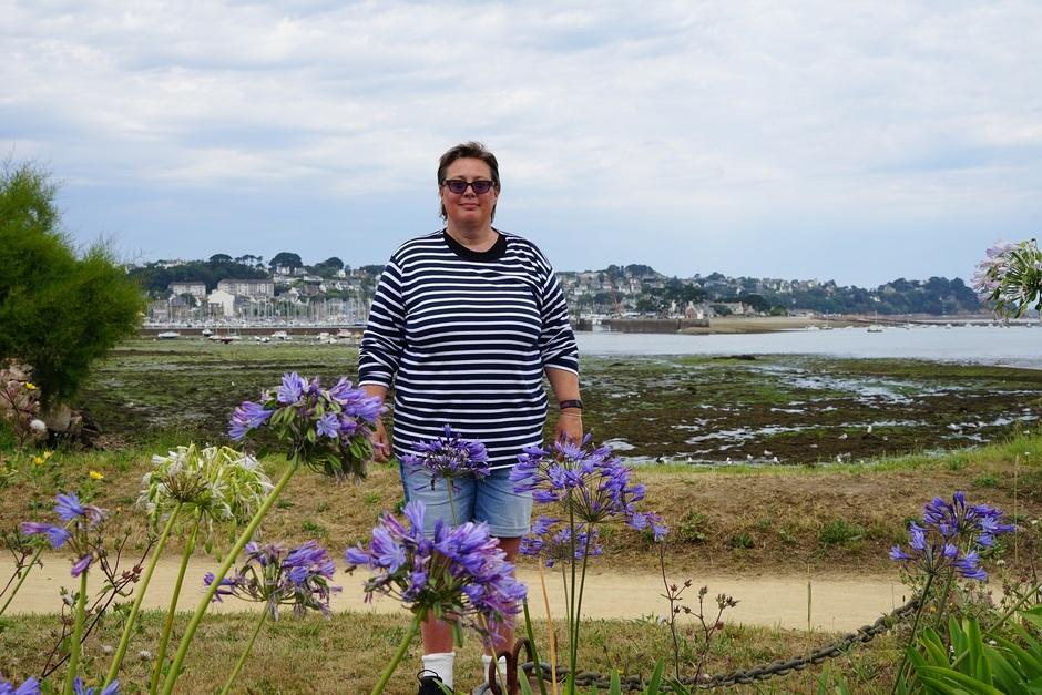 Fris, de trui kan zeker aan in Bretagne