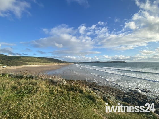 Woolacombe bay and Croyde Bay