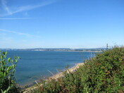 View from SW Coast path from Orcombe Point