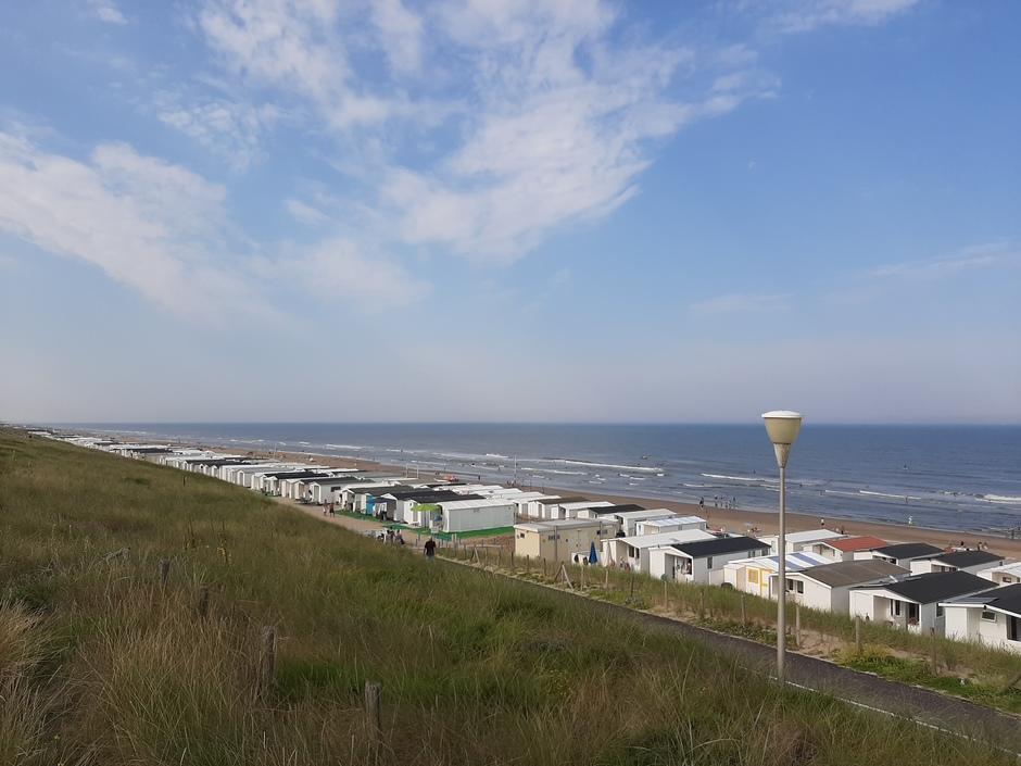 Wat sluierbewolking aan de kust