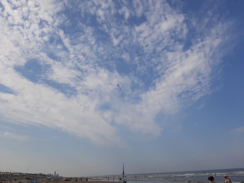 Vlieger in de lucht