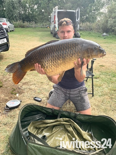 40ib 6oz untouched river common carp