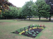 Flower bed in Manor Gardens, Exmouth