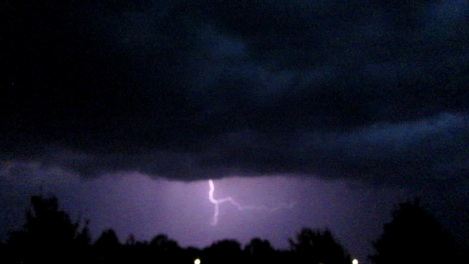 Onweer boven Emmeloord!